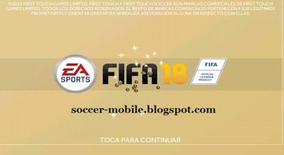 Download FTS 18 Mod FIFA 18 | New FTS 18 Update 2018