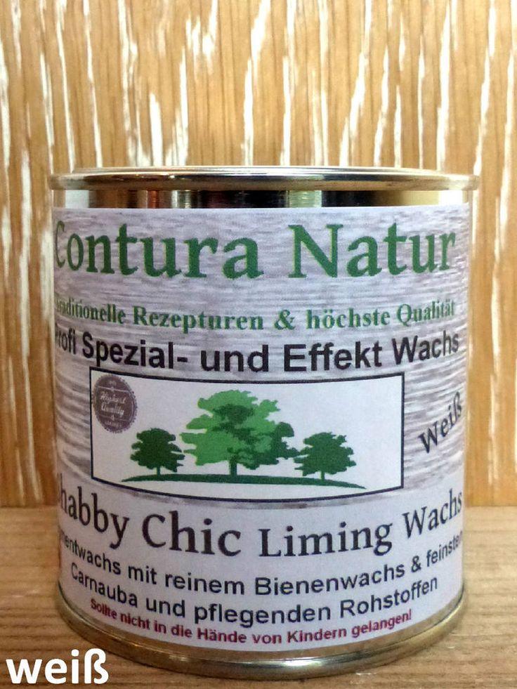 Shabby Chic Kalkwachs Liming- Holz Soft Wax Wachs Möbelwachs weiß Kreidefarbe