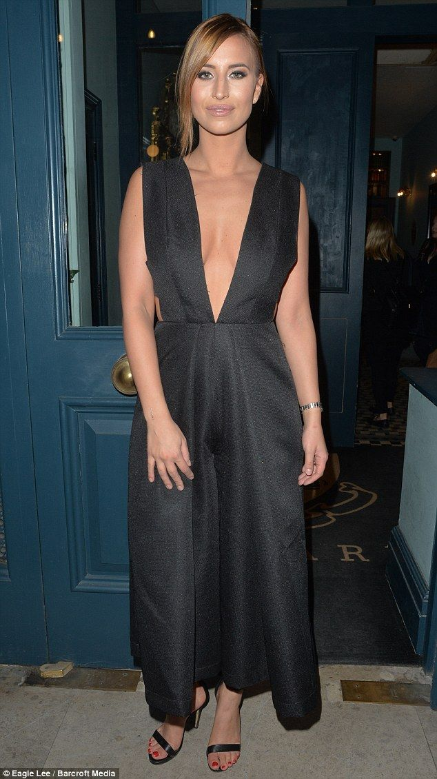 Flawless:Newly single Ferne McCann turned heads when she stepped out at the Library Club ...