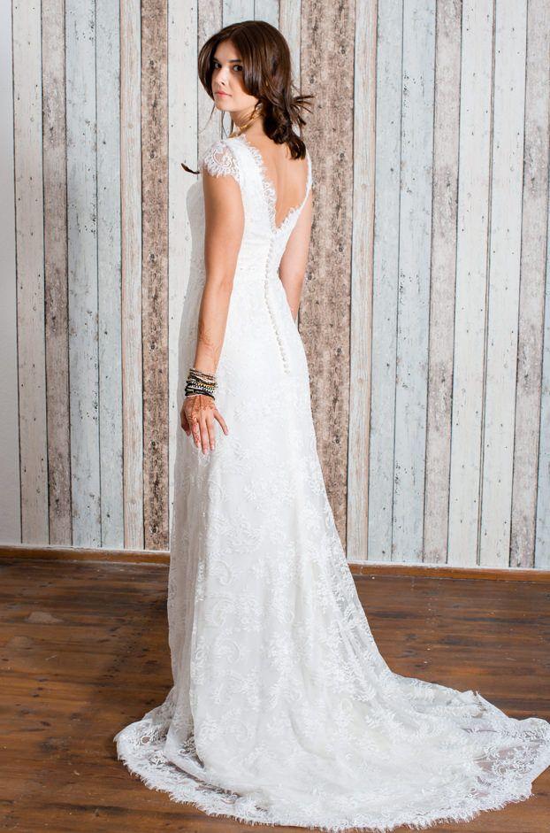 7 best kleider images on Pinterest   Vintage wedding dresses, Bridal ...