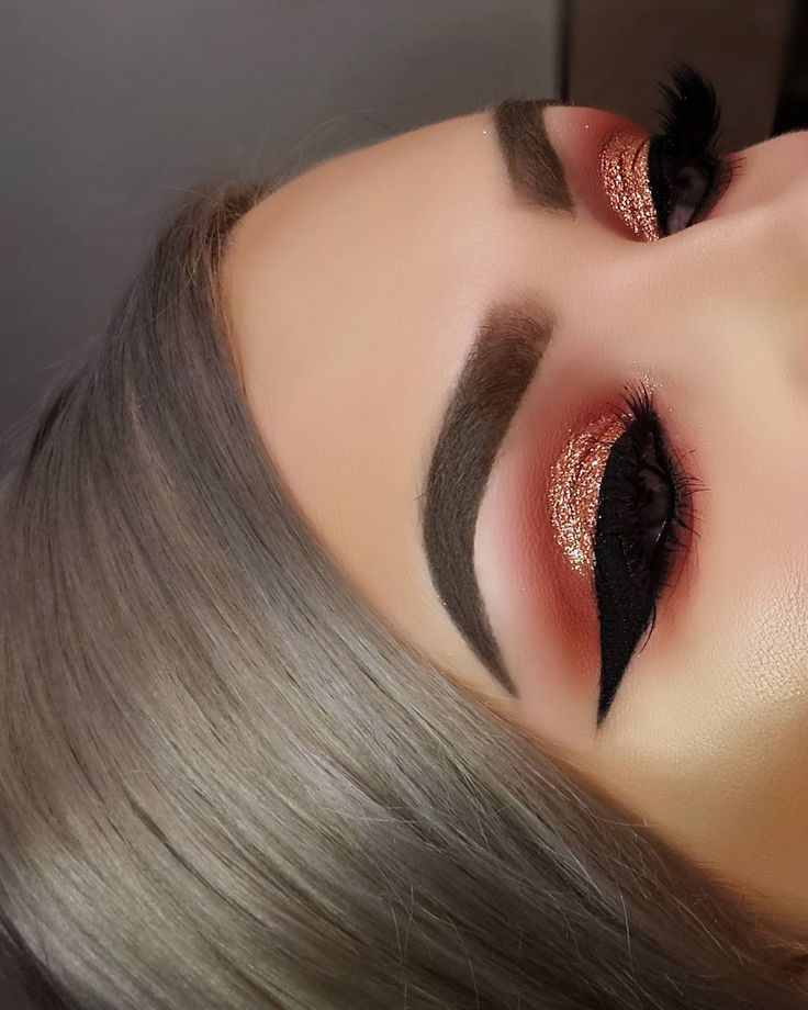 Copper Smokey Eyes Early Fall Makeup Look: 25+ Best Ideas About Copper Eyeshadow On Pinterest