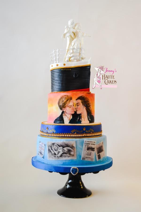 Be my Valentine Movie Nights Titanic by Jenny Kennedy Jenny's Haute Cakes