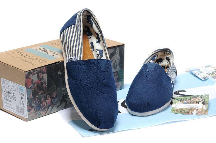 cheap TOMS,cheap TOMS shoes,toms shoes outlet, toms outlet,cheap TOMS University Women Classics outlet Blue $19.98