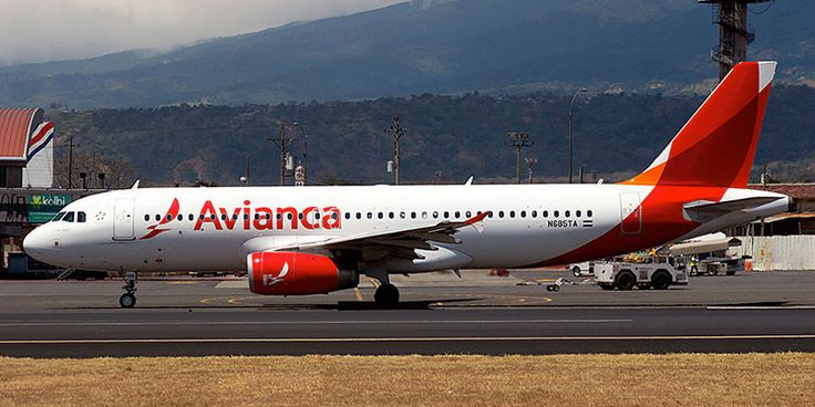 Самолет Airbus A320 авиакомпании Avianca Costa Rica