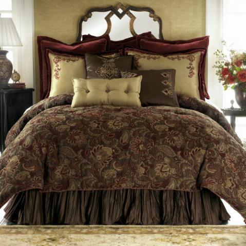 Chris Madden King Chocolate Bedding
