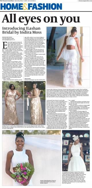 Our feature in The Nassau Guardian