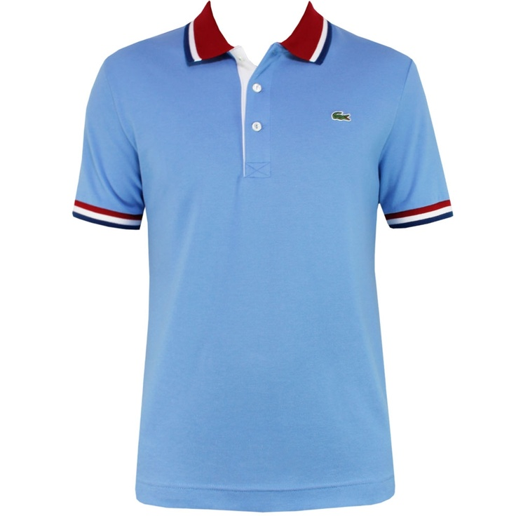 Lacoste Slim Fit Polo Shirt Bold Tipping Fjord - Spring/Summer 12