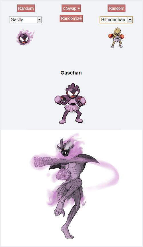 Pokemon Fusion Alternative Art Collection - Imgur