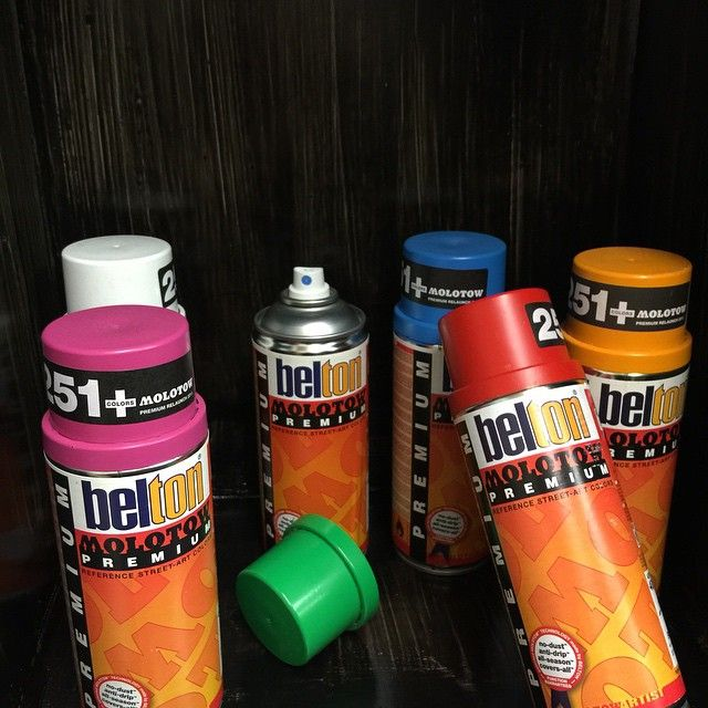 belton molotow premium spray paints are ideal for many types of street. Black Bedroom Furniture Sets. Home Design Ideas