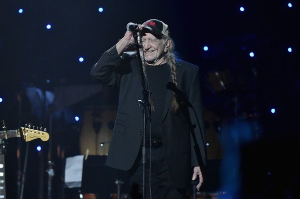 Willie Nelson Photos Photos - (Editorial Use Only) Musician Willie Nelson performs on stage during the Imagine: John Lennon 75th Birthday Concert at The Theater at Madison Square Garden on December 5, 2015 in New York City. - Imagine: John Lennon 75th Birthday Concert