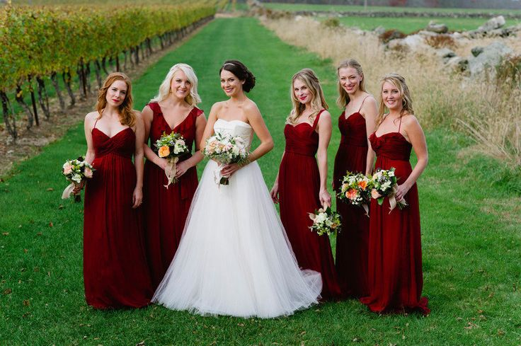 Cranberry Bridesmaid Dresses 71
