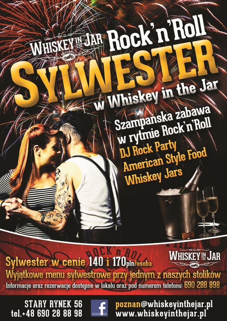 Sylwester w rytmie Rock'n'Rolla Poznań