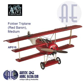Fokker Triplane (Red Baron), Medium