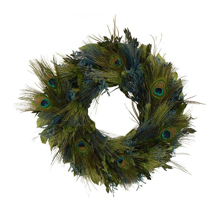 Peacock Feather Wreath Home Decor 39 Pinterest Feather