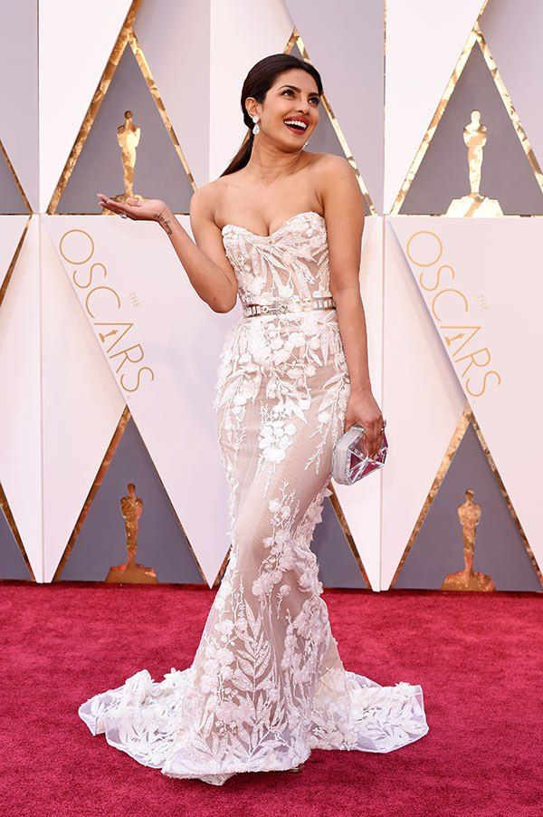 PRIYANKA CHOPRA in Zuhair Murad | 88th Academy Awards •  February 28, 2016