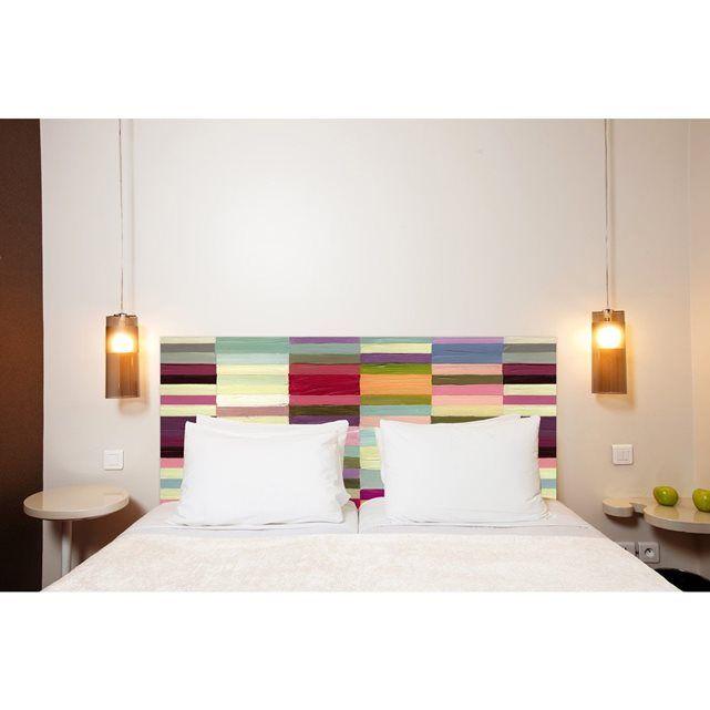 les 25 meilleures id es concernant t tes de lit en tissu. Black Bedroom Furniture Sets. Home Design Ideas