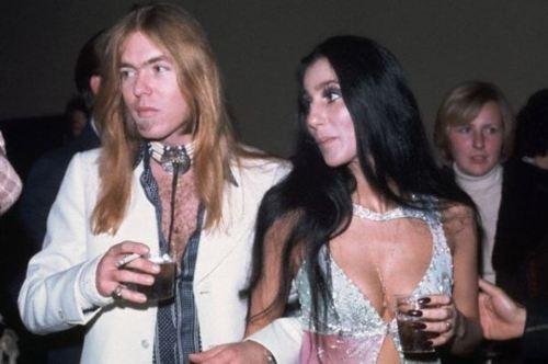 Gregg Allman and Cher, 1976