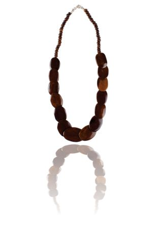 Wooden Beaded Necklace, Wooden Necklaces, Buy Beaded Necklace Online in India