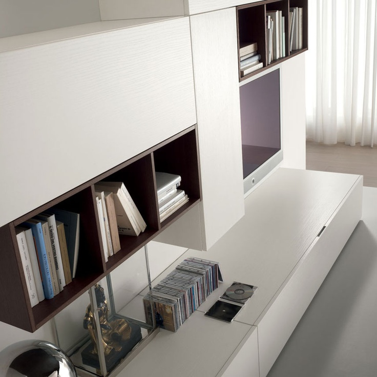 #LOGIKA #COLLECTION   Tobacco structure and #glossy white fronts. http://spar.it/eng/Products/Day//Default-cc-280.aspx