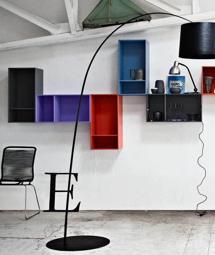 SECTIONAL BOOKCASE MONTANA SHELVING UNITS BY MONTANA MØBLER