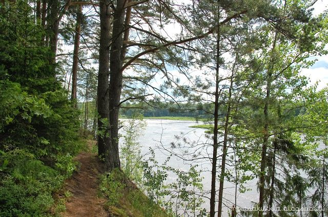 Ruskilankoski, Nakkila, Ulvila, Finland.