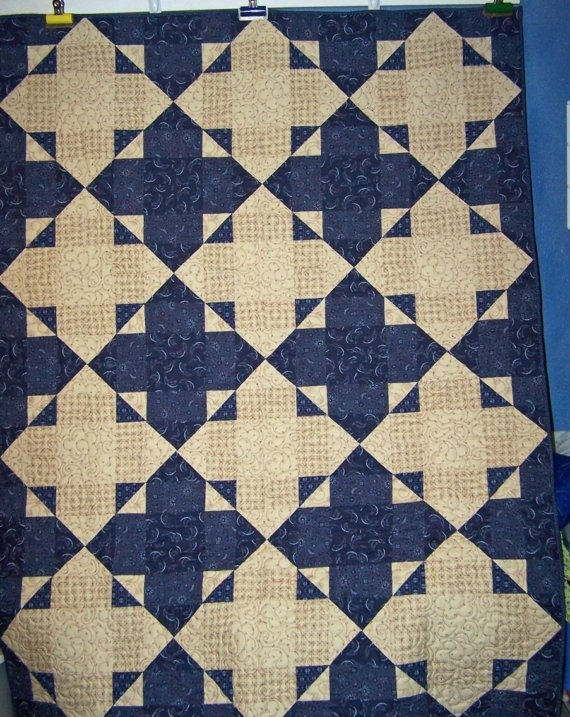 275 best Blue & White Quilts images on Pinterest | Antique quilts ... : blue white quilt patterns - Adamdwight.com