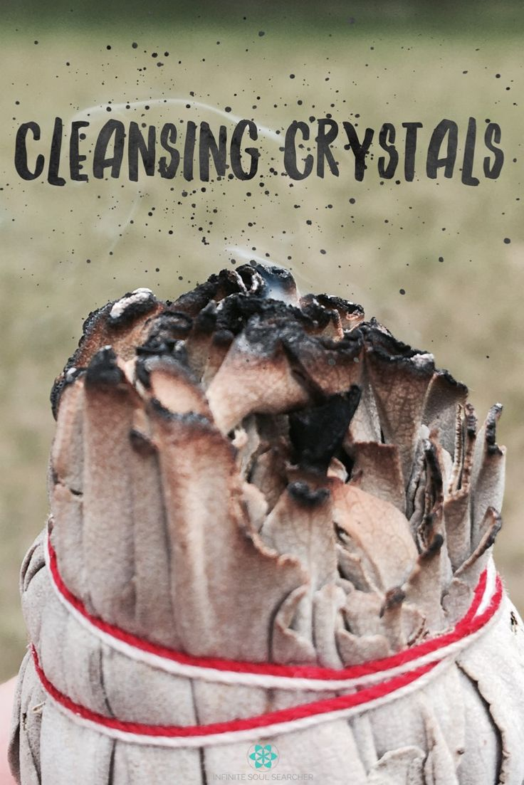 BLOG:There are several ways to cleanse crystals.  You must use caution when cleansing certain crystals, since some should not be placed in water, and others should not be placed in sunlight, as it fades their colour.