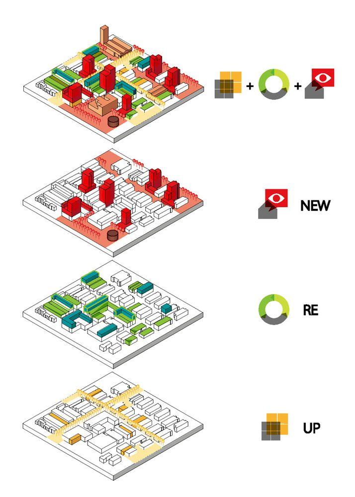 Galeria de MLA+ e CAUPD vencem concurso para a regeneração de uma área industrial em Shenzhen - 4