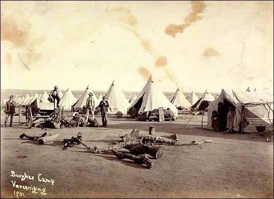 Boer War - Vereeniging Concentration camp