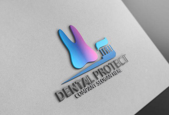 Dental Protect Logo by Josuf Media on @creativemarket Más