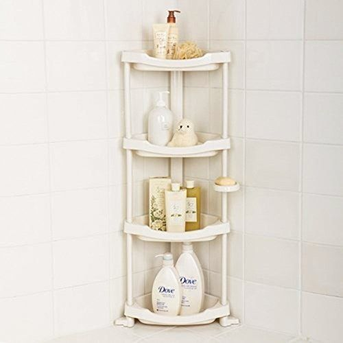 This shower caddy for a less cluttered shower experience. | 27 Incredibly Useful Products That Will Organize Your Shit For You