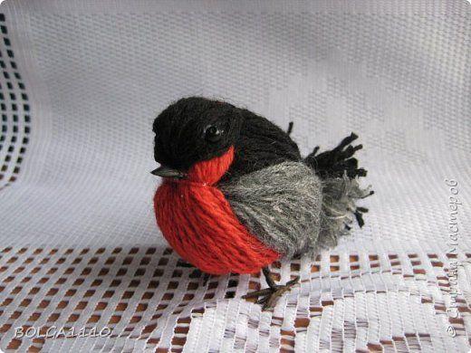 DIY : faire un oiseau avec des bouts de laine | Sakarton