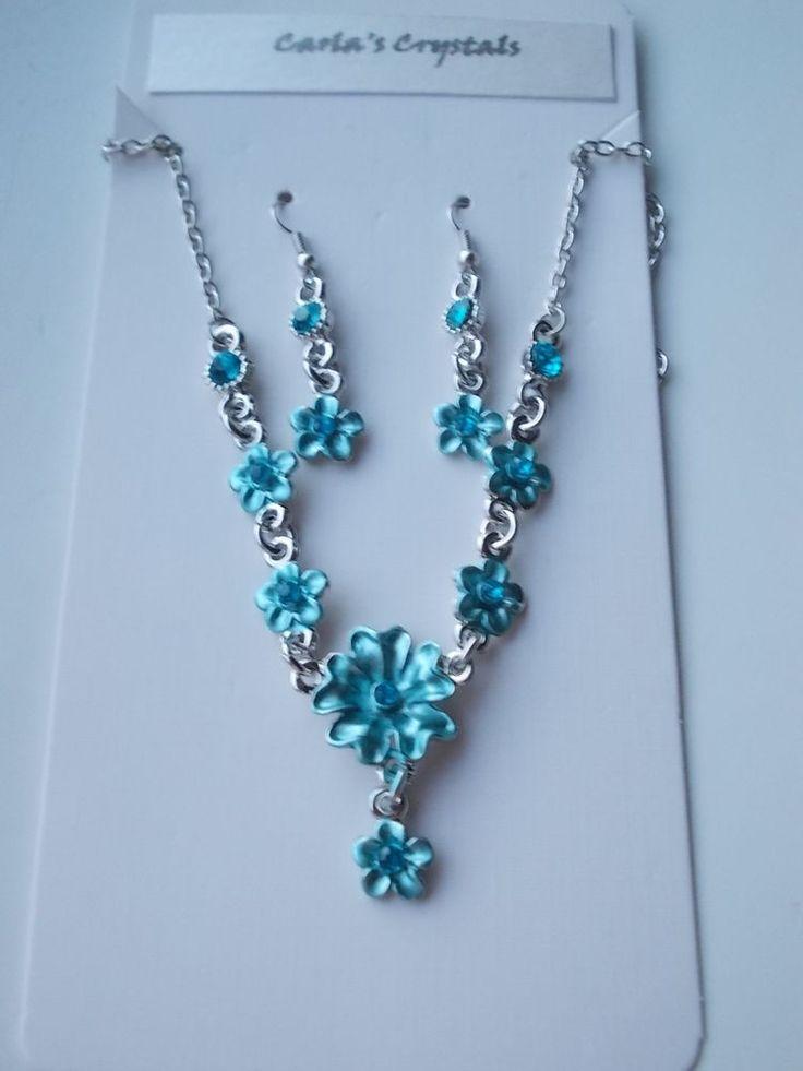 SUMMER SALE...Turquoise Jewellery Set