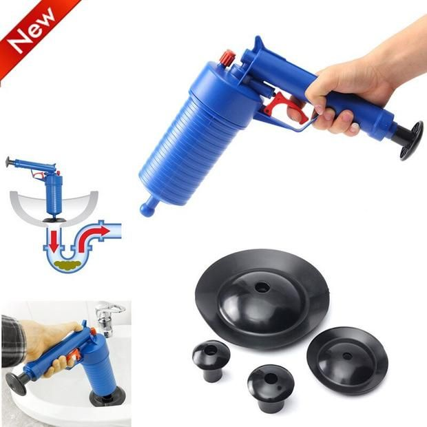 High Pressure Drain Blaster Plunger Power Cleaners Cleaners