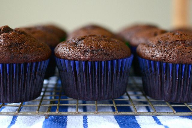 chocolate cupcakes by annieseats, via Flickr