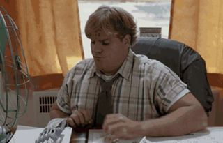 New trending GIF on Giphy. middle finger chris farley. Follow Me CooliPhone6Case on Twitter Facebook Google Instagram LinkedIn Blogger Tumblr Youtube