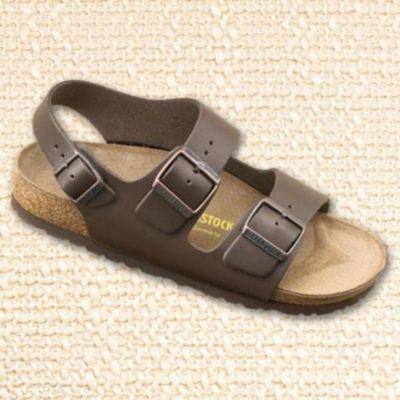 Birkenstock® Milano' Men's Leather Comfort 2-band Sandals - Sears | Sears Canada