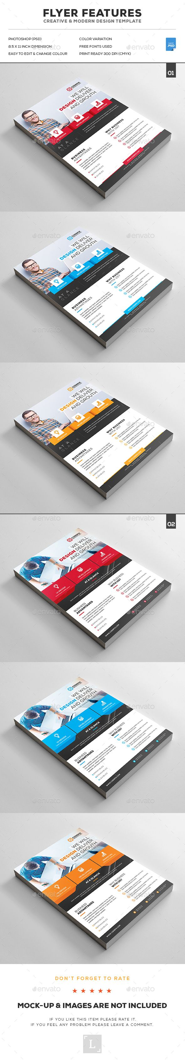 Corporate Flyer Bundle Templates PSD. Download here: http://graphicriver.net/item/corporate-flyer-bundle/16690252?ref=ksioks