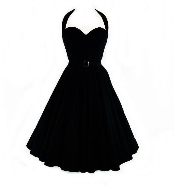 Vestido preto Pin-up  http://bonecasdeverdade.loja2.com.br/2337272-Vestido-Black