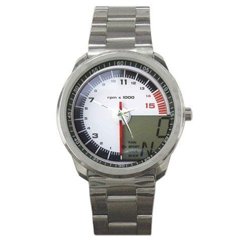BMW S 1000RR Speedometer Sport Metal Watch