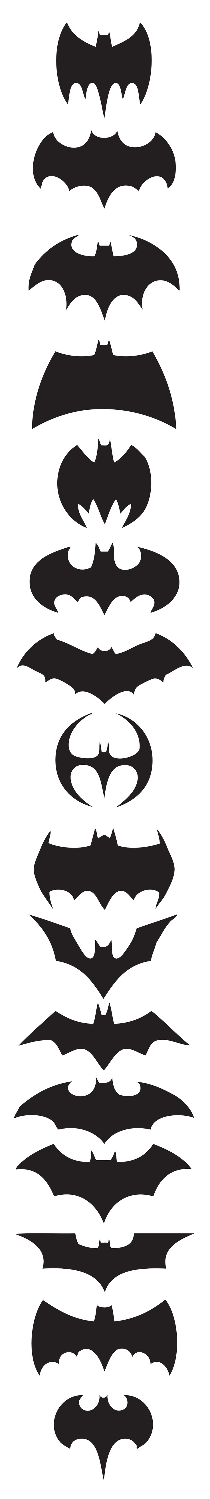 The history of the Batman logo