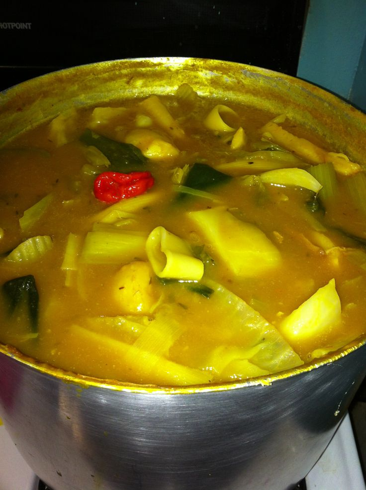 My new year soup joumou (Haitian pumpkin  soup)