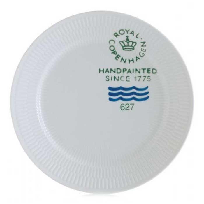 White Plain Signature Plate, Royal Copenhagen x 2 - from Stephen, Xmas 2013.