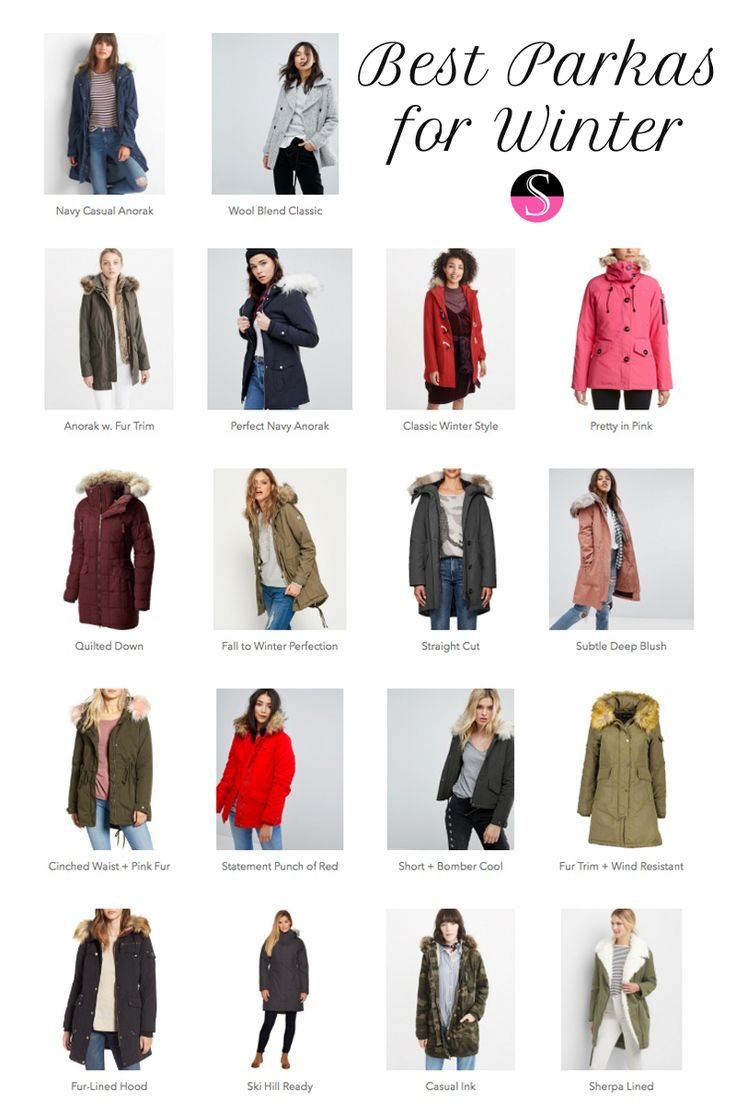 Parkas | Winter Jackets | Best Parkas | Outerwear | Peacoat | Wool Coat | Outfit Ideas | Winter Wardrobe | Winter Fashion