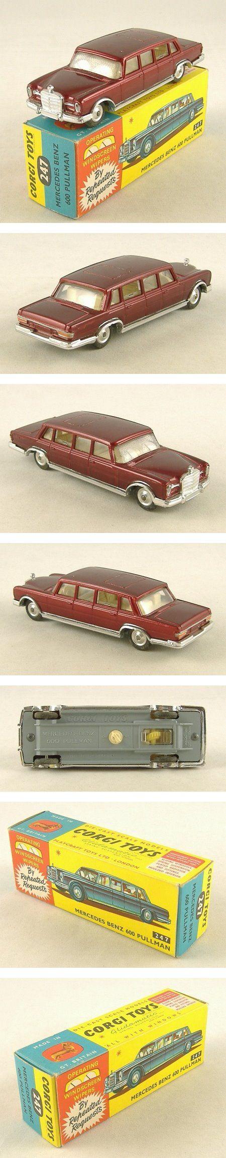 Corgi Toys 247 Mercedes Benz 600 Pullman Limousine