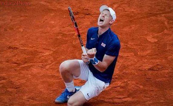 Kyle Edmund books marquee match up with Novak Djokovic
