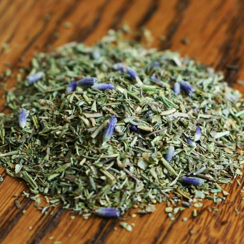 Herbes de Provence - Chicken, fish and potatoes are especially good with Herbes de Provence, but this blend can be added to any other meat as well as a huge variety of soups and sauces.