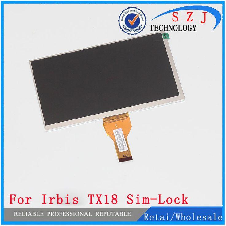 New 7 inch LCD display For matrix Irbis TX18 Sim Lock 3G Tablet inner LCD Screen. Click visit to buy