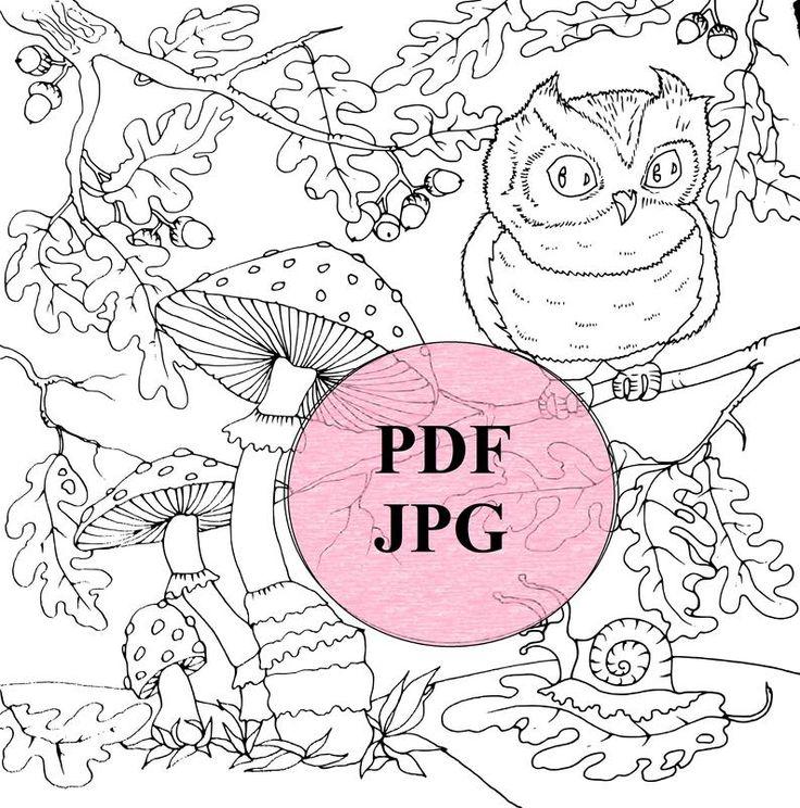 Раскраски для детей PDF коллекционные файлы печать | Etsy