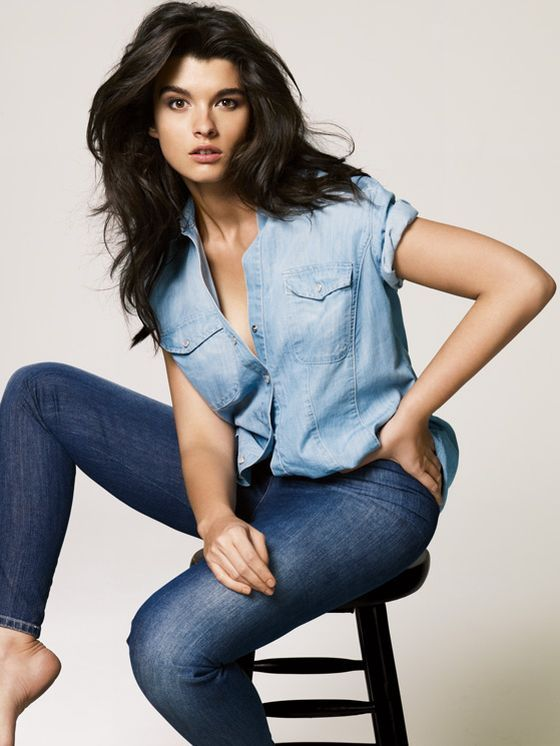 Plus Size Models | Plus Size Model Crystal Renn Jeans Image #5 - February 7, 2013